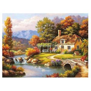 塗り絵 手塗り 新しい数字で手書きデジタル油絵  数字キットによる絵画 デジタル油絵  DIY  全15種類 - フォレストコテージ