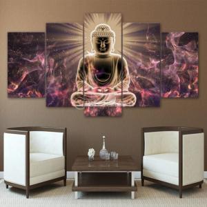全13様式2サイズ 5点セット キャンバス 絵画 壁掛け アートパネル テレビ 背景 装飾 インテリア  - 様式2, S stk-shop