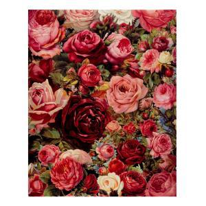 ノーブランド品 全10タイプ ナンバーキット DIY絵画 キャンバスウォール アート絵画画像 - ブロッサムローズ