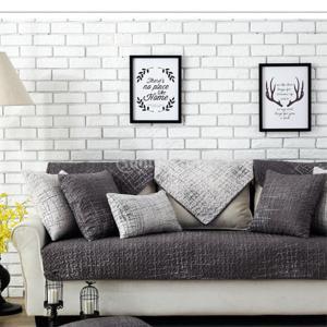 Fenteer 綿ブレンドソファパッド ソファマット ノンスリップ クッション ソファカバー 全3サイズ - A