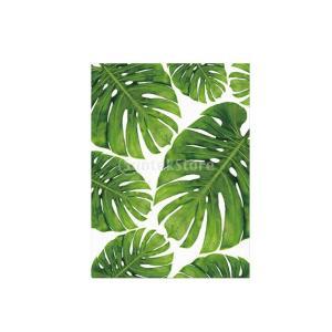 油絵 壁掛け 絵画 家の装飾 インテリア 植物 アートワーク 贈り物 全9パターン選べ - Monstera Deliciosa S, 25X30CM|stk-shop
