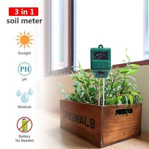 Sharplace 土壌測定器 電池不要 園芸 農業用 3in1 土壌用酸度計 水分計 照度計 高性能 品質保証|stk-shop