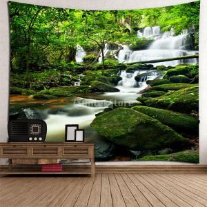 SunniMix 3D タペストリー 壁掛け 装飾 防水 180x180cm クリスマス 新年 贈り物  多種類選べる - #4|stk-shop