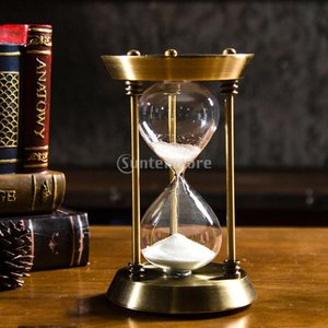 Sharplace 高品質 北欧 ガラス 砂時計 タイマー 時計 時間 装飾 誕生日 贈り物 全4種選べる  - L 60分|stk-shop