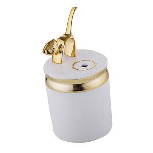 ミニ かわいい 超音波式  アロマ加湿器  空気清浄機  高品質 全3色 - ゴールド|stk-shop