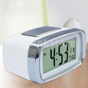 カレンダーテーブルが付いているLEDデジタルの電子目覚まし時計のバックライトの時間デジタル目覚まし時計のスヌーズ|stk-shop
