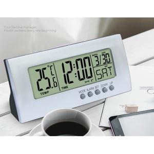 多機能デスクトップ時計LED電子目覚まし時計温度計|stk-shop