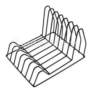 説明: スタイリッシュなデザイン - この雑誌のバスケットのきれいな線と鉄線のデザインは、それをあら...