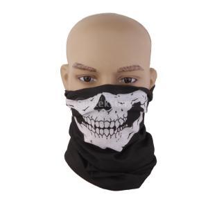 Lovoski スカルフェイス柄 カッコイイ マスク 運動 バイク サイクリング 汎用 フェイスマスク|stk-shop
