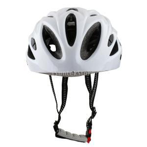 ノーブランド品 通気性 自転車ヘルメット バイク MTB サイクリング 03(白) stk-shop