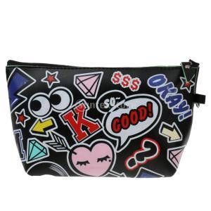 ファッション化粧品メイクアップ財布の洗浄バッグオーガナイザーポーチペンケースバッグB|stk-shop