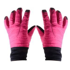 【ノーブランド品】 子供 冬 暖かい スキー手袋 防水 防風 2色4サイズ選べる - レッド, L|stk-shop