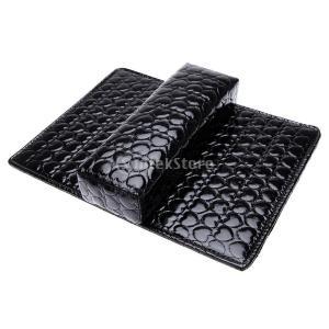 黒のネイルアートアームレストマニキュアツールサロンハンドホルダークッション枕パッド