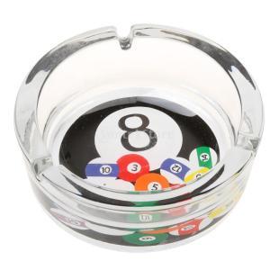 ノーブランド品 ゲームルーム/ビリヤードルーム/デスクトップ 装飾 喫煙愛好家 ビリヤード ボール 灰皿