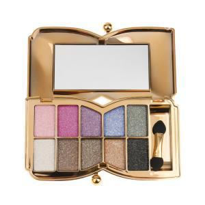ノーブランド品10色 プロ アイシャドウパレット メイクアップ 化粧用ブラシ 全6色選ぶ - 1#