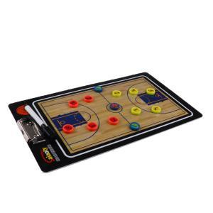 Perfk 試合指導用 磁気バスケットボール コーチングボード クリップボード コーチボード