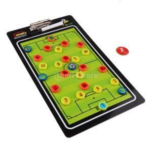 磁気サッカー コーチング指導 試合指導 クリップボード ガイダンス トレーニング援助 1セット