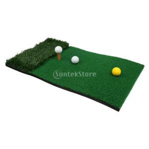 ゴルフ 練習用ショットマット ゴルフマット パターマット トレーニングパッド 4色選べる - A|stk-shop