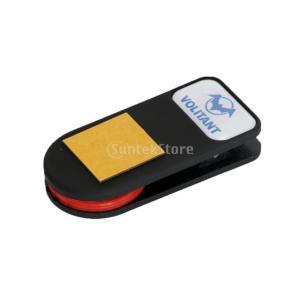 説明:ミニクリップチョークホルダー、ポケットやウエストベルトに取り付けが簡単軽量でポータブルなクリッ...