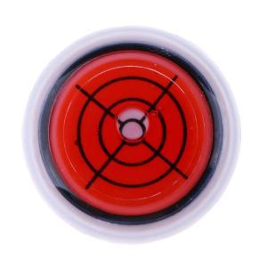 3色選択 磁気キャップ マーカーギフ ゴルフボール クリップ レベルゲージ 帽子バイザー  - 赤 stk-shop