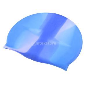 シリコンキャップ スイムキャップ 水泳帽子 ユニセックス 全7選択し - A6|stk-shop