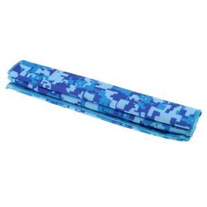 SunniMix スポーツ 冷感 タオル ひんやりタオル UVカット 暑さ対策 全2色 - ライトブルー|stk-shop