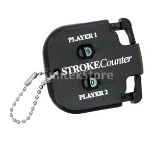 Perfeclan ポータブル ゴルフ スコアカウンター ラウンド 得点 タグ ゴルファーアクセサリー|stk-shop