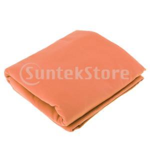 屋外スイミングクイックドライフード付きバスローブビーチバスタオルローブオレンジ