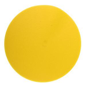 スポーツスポットマーカーフラットフィールドコーンサッカーバスケットボールフロアスポット黄色