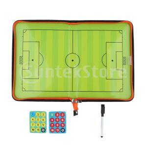 サッカーコーチングボードサッカー戦術戦略トレーニングクリップボード耐久性