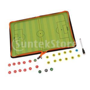 サッカーバスケットボールコーチングボード磁気サッカー戦略クリップボードタイプ1