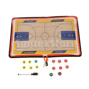 サッカーバスケットボールコーチングボード磁気サッカー戦略クリップボードタイプ2