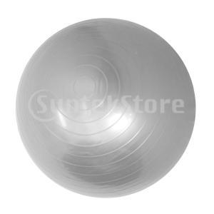 45/85 cmソフトアンチバーストヨガボールエクササイズジムピラティスボール45 cmグレー