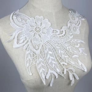 説明:  ??刺繍トリムembelishment  ヴィンテージスタイル、エレガントで魅力的な シャ...