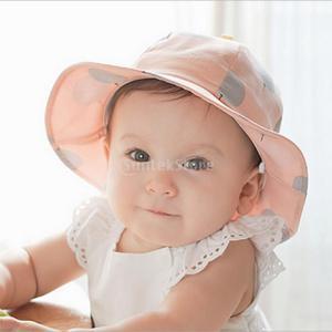 ノーブランド品 帽子 バケットハット 男の子 女の子 夏 ビーチキャップ 快適 かわいい 贈り物 全3色 - ピンク|stk-shop