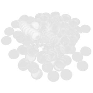 100pcs明確なコインカプセルコンテナボックスホルダー26ミリメートル|stk-shop