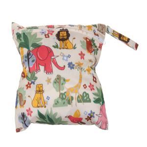 SONONIA 防水 再利用可能 赤ちゃん ジッパー おむつ袋 ウェット ドライ 水泳 トラベル トート バッグ 収納バッグ 全11色 選べる - #12|stk-shop
