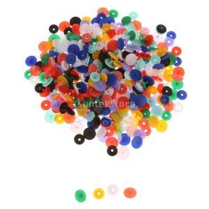 【ノーブランド 品】T5樹脂 プラスチック スナップ ボタン 手作り用 多色 ポッパー 12.4mm 約100セット|stk-shop