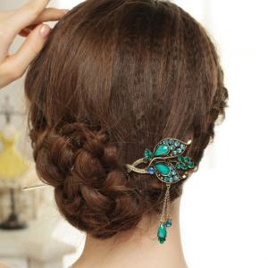 可愛い ラインストーン ボビーピン 髪飾り 花 ヘアピン かんざし 簪 お祭り 贈り物|stk-shop