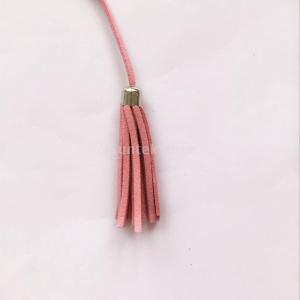 工芸品 装飾 キーホルダー バッグ キャップ ペンダント 45cm ベルベット タッセル 全21色 - ピンク|stk-shop