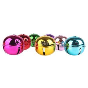 ノーブランド品  お祭りの装飾 DIY 工芸品 混合色 細工 銅鐘 ジングルベル ペット 犬 ベル 全4パターン - #1|stk-shop