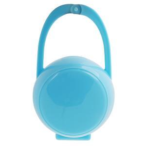 ベビー 携帯 おしゃぶり 乳首ケース おしゃぶりホルダー ボックス 保護ボックス きれい 全3色 - ブルー|stk-shop
