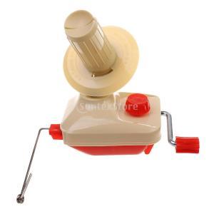 ホーム スウィフト糸 ストリングボール ウール ワインダー ホルダー 玉巻き器 糸巻き器 手動|stk-shop