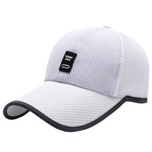 男女兼用 メッシュ スポーツ 旅行 ゴルフ 野球帽子 サンハット キャップ UVカット 速乾 通気性 全6色