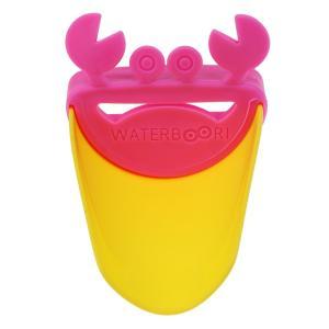 送料無料ウオーターガイド 子供用 手洗い補助 手洗いサポート キッズ 蛇口サポート 洗面所 可愛い 蟹型 |stk-shop