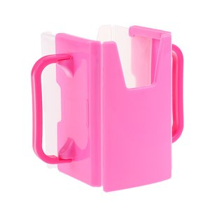 Perfk 赤ちゃん  幼児  抗押し出し  牛乳  ジュース  飲料   コンテナホルダー  全2色 - ピンク|stk-shop