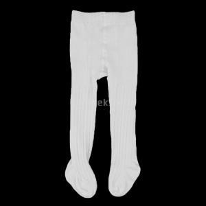 Perfk コットン 暖かい ベビー  タイツ パンティストッキング 女の子 新生児  ストッキング  防臭性  全2サイズ4色 - 白, 0〜12月|stk-shop