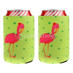 ビール缶クーラーホルダー フラミンゴ クーラー缶カバー クーラーホルダー クーラーカバーパーティー