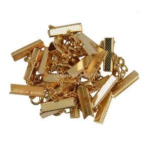 金色 12PCS  ロット クラスプとクリップ ロブスタークラスプ エクステンダ チェーン|stk-shop