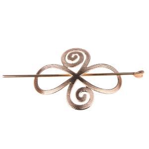 Lovoski 全2色 かんざし ヘアピン ヘアクリップ 髪飾り クランプ ヘッドドレス - 金色|stk-shop